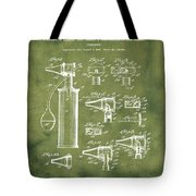 Otoscope Patent 1927 Grunge Tote Bag
