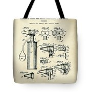 Otoscope Patent 1927 Old Style Tote Bag