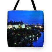 Ottawa At Night Tote Bag
