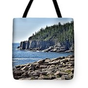 Otter Cliffs In Acadia National Park - Maine Tote Bag