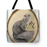 Otter - Growing Curiosity Tote Bag