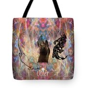 Otter Moon Tote Bag