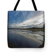 Otters View Tote Bag