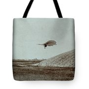Otto Lilienthal Gliding Experiment Tote Bag
