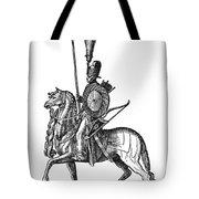 Ottoman Cavalryman, 1576 Tote Bag