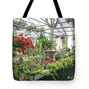 Ott's Greenhouse  Schwenksville Pennsylvania Usa Tote Bag