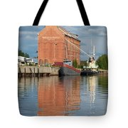 Oulu From The Sea 3 Tote Bag