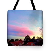 Our Cloud Sunset 12-08 Tote Bag