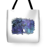 Our Father Berry Blues 3 Dimensional Tote Bag