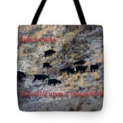 Our Father Owns Tote Bag