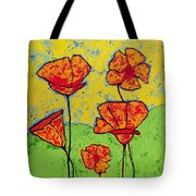 Our Golden Poppies Tote Bag