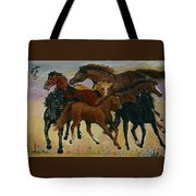 Our Horses Tote Bag