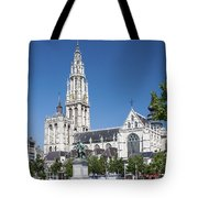 Our Lady Cathedral Antwerp Tote Bag