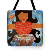 Our Lady Of Proclamation Tote Bag