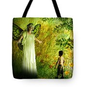 Our Lady Of The Meadow Tote Bag