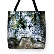 Our Little Angel Stone Carving Horizontal Tote Bag