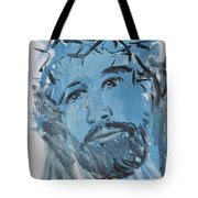 Our Lord Cries Tote Bag