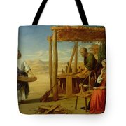 Our Saviour Subject To His Parents At Nazareth Tote Bag