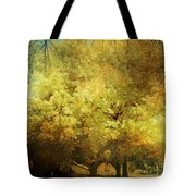 Our Town In Autumn Tote Bag