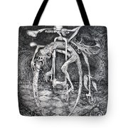 Ouroboros Perpetual Motion Machine Tote Bag