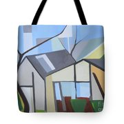 Out Back Down Oakwood Tote Bag