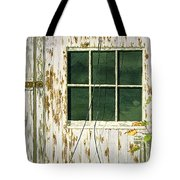 Out Building Window Tote Bag