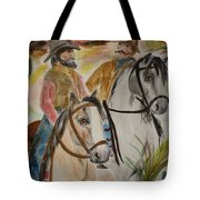 Out For A Ride Tote Bag