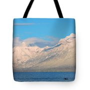 Out For A Swim Tote Bag