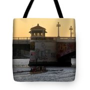 Out For An Evening Scull Tote Bag