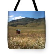 Out House Tote Bag