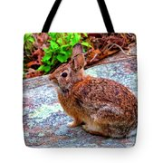 Out In The Yard Tote Bag