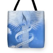 Out Of Darkness - Impressions Tote Bag