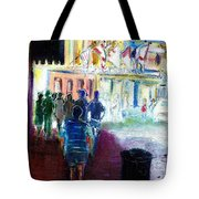 Out Of Darkness Into The Light Tote Bag