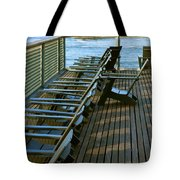 Out Of Line Tote Bag