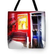 Out Of My Calling Area Tote Bag
