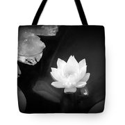 Out Of The Depths Bw Tote Bag