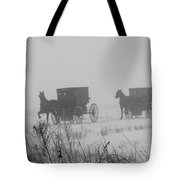 Out Of The Fog Tote Bag