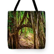 Out Of The Hole And Through The Trees Tote Bag