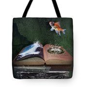 Out Of The Pond Tote Bag