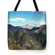Out Of The Shadows - Angeles Crest Highway Tote Bag