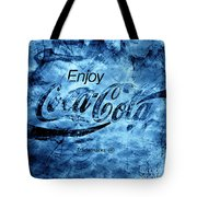 Out Of This World Coca Cola Blues Tote Bag