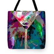 Out Of This World Martini Tote Bag