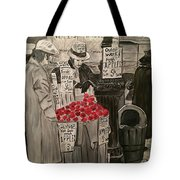 Out Of Work Tote Bag