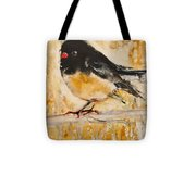 Out On A Limb With Orange Feet Tote Bag