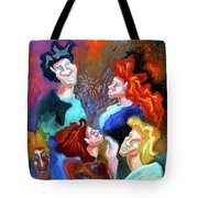 Out On The Town Tote Bag