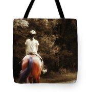 Out On The Trail Tote Bag