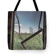 Out Overlooking A Pasture Tote Bag
