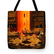 Out Shopping Tote Bag