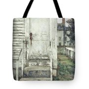 Out The Back Door Pencil Tote Bag