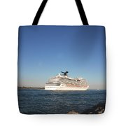 Out To The Ocean Tote Bag